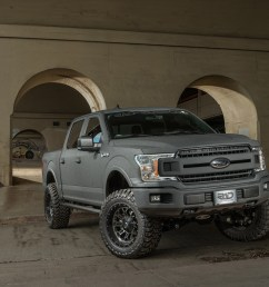 2018 ford f 150 xlt gray kevlar 4x4 lifted truck sold [ 1500 x 1000 Pixel ]