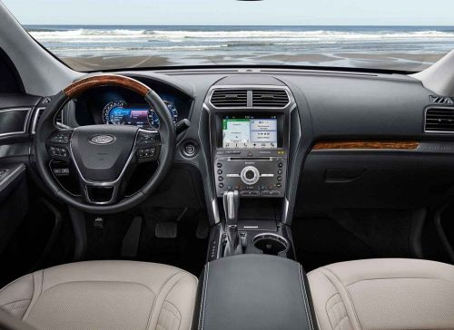 small resolution of interior of the 2018 explorer