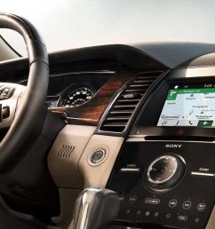 interior of the 2018 ford taurus [ 1280 x 632 Pixel ]