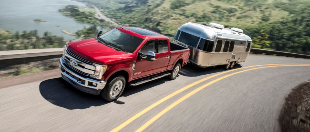 medium resolution of 2018 ford f 250 towing a camper