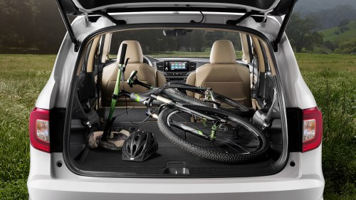 small resolution of 2019 honda pilot trunk space