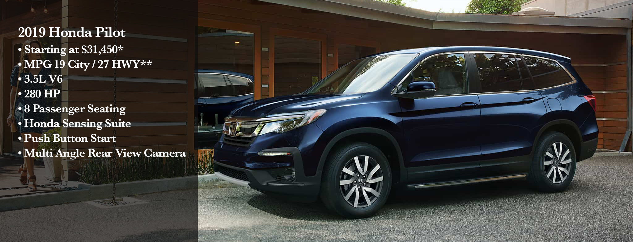 Suv With Captain Chairs New 2019 Honda Pilot Ex