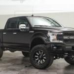 2019 Ford F 150 Platinum Custom Lifted 4x4 Truck Black Fuel Hardline Wheels