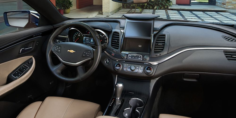 medium resolution of interior of the 2019 chevrolet impala