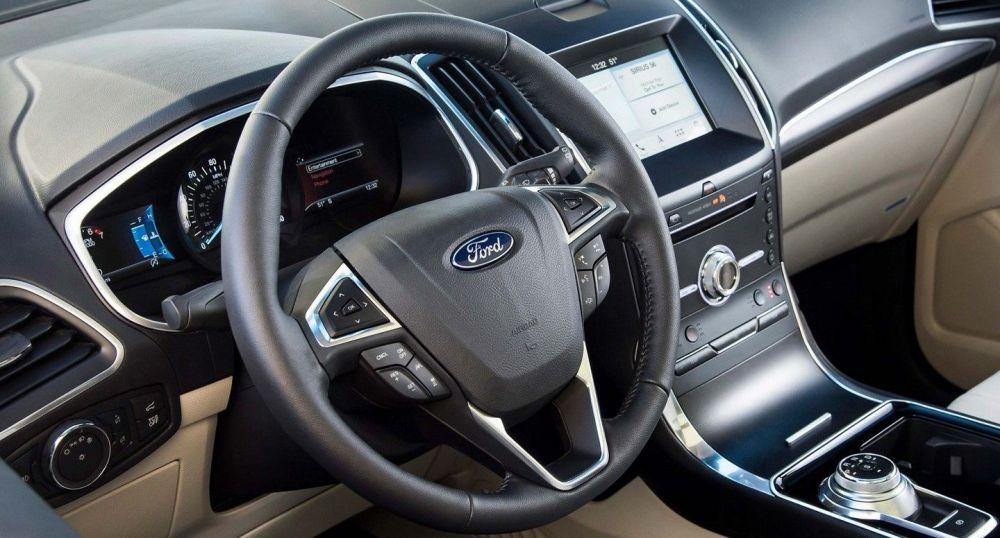 medium resolution of 2019 ford edge cockpit