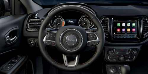 small resolution of steering wheel in the jeep compass