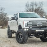 2019 Ford F 250 Platinum With Fabtech 6 Inch Lift Dirt Logic Coil Overs