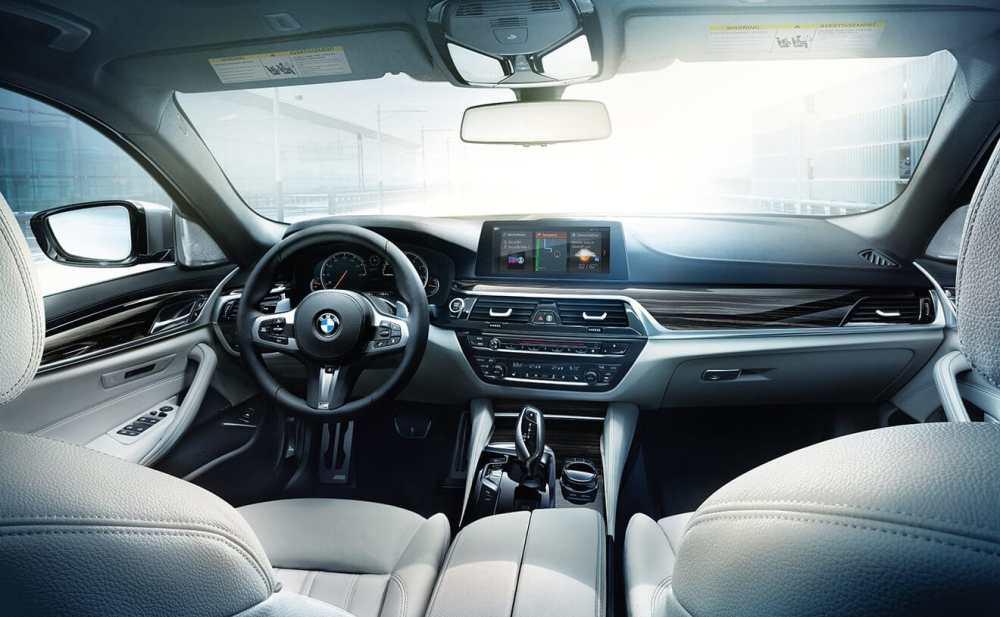 medium resolution of 2019 bmw 5 series interior