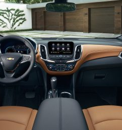 interior of the 2019 chevrolet equinox [ 1613 x 807 Pixel ]