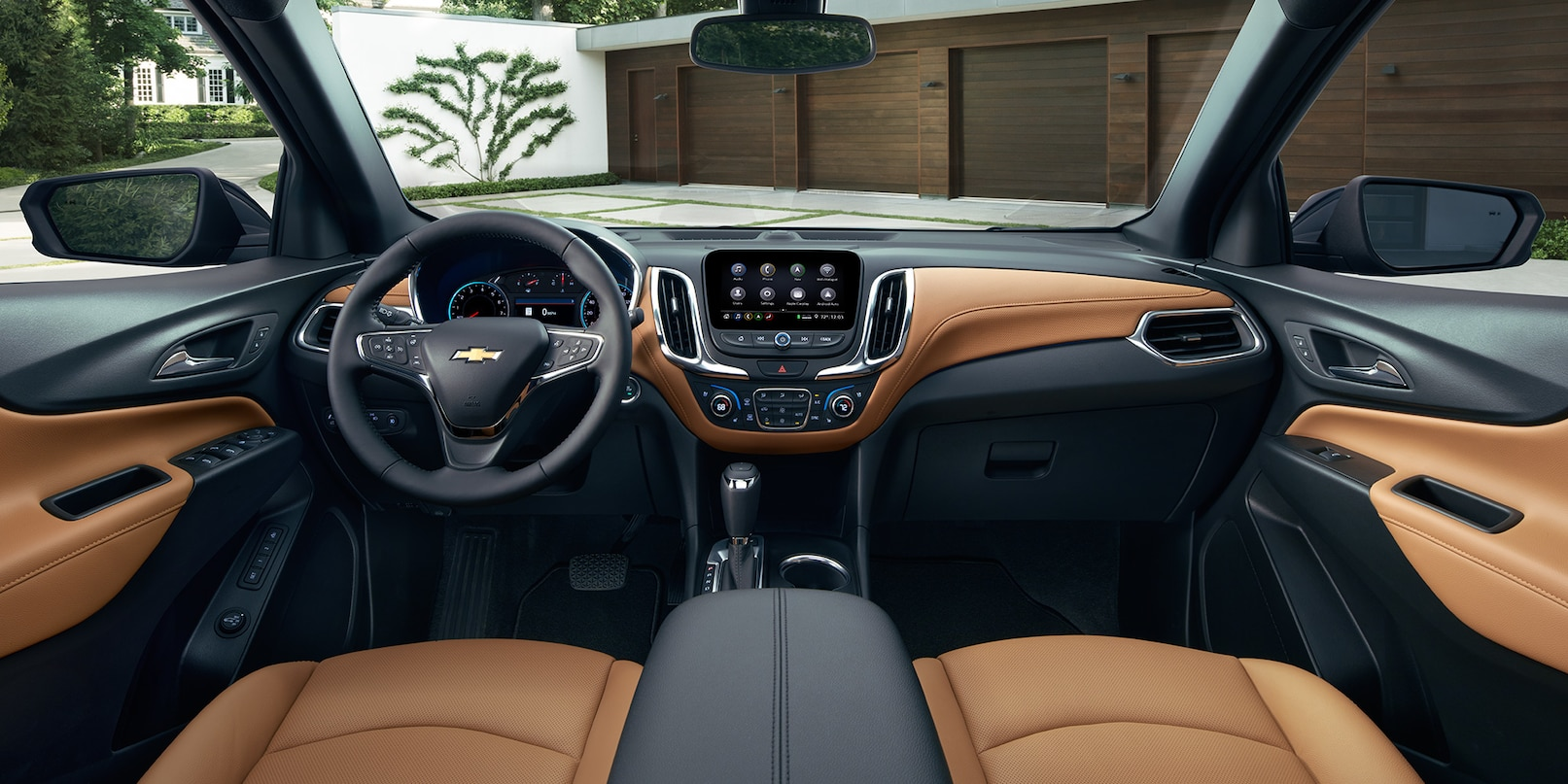 hight resolution of interior of the 2019 chevrolet equinox