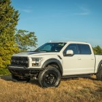 Ford Raptor F 150 With Lift Level Kit And Xd Series Wheels And Add Off Road Front And Rear Bumpers