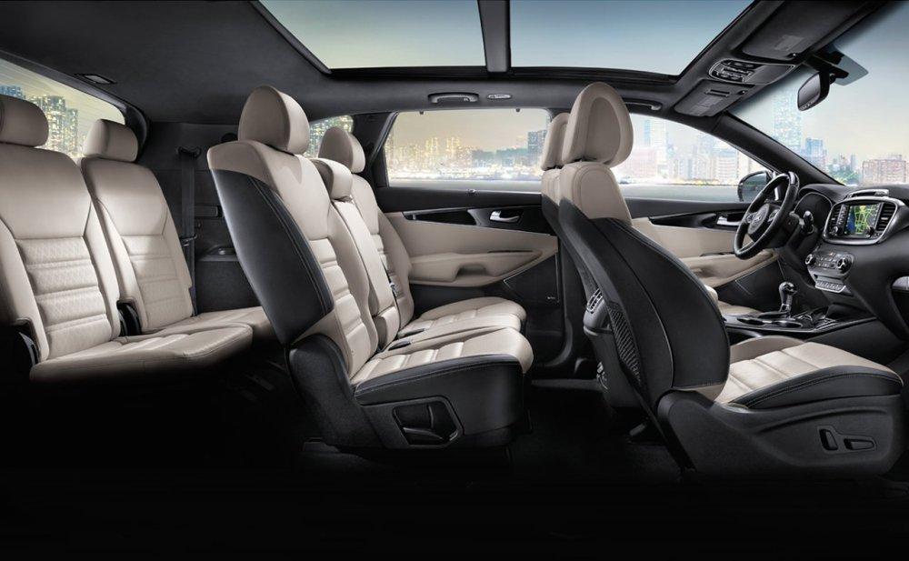 medium resolution of kia sorento with optional 7 passenger seating