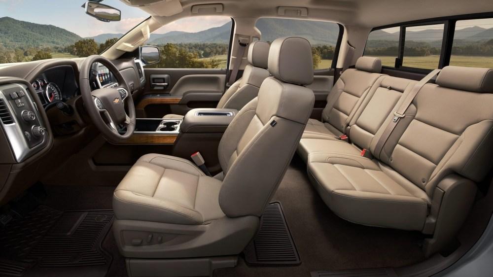 medium resolution of 2016 silverado 1500 interior
