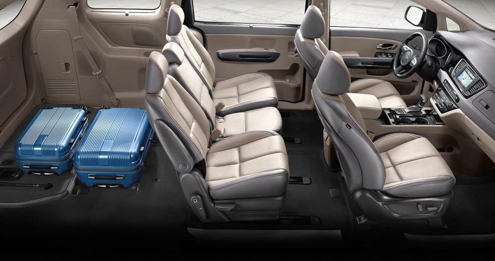 medium resolution of 2018 kia sedona interior