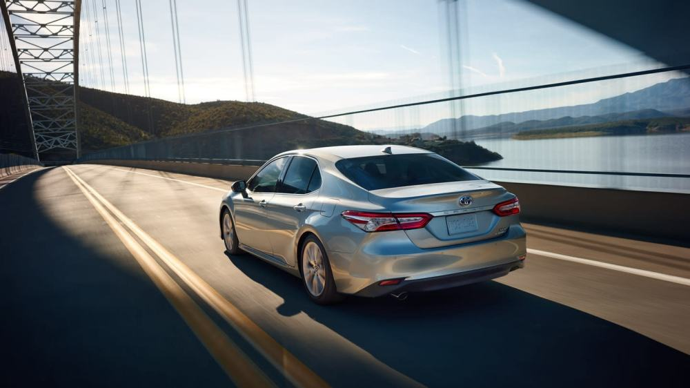medium resolution of a superb driving performance with the new camry