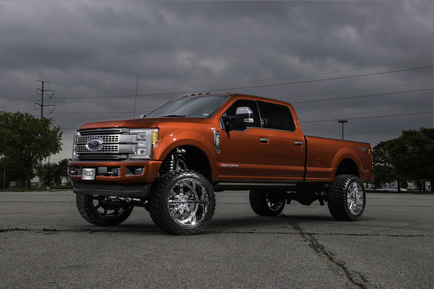 hight resolution of ford f350 super duty platinum with fuel 24 inch maverick wheels and an 8 inch fabtech