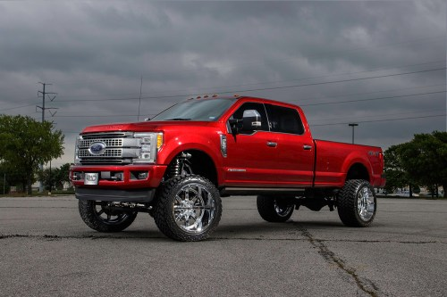 small resolution of ford f350 super duty platinum with fuel 24 inch maverick wheels and an 8 inch fabtech