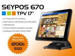 """TPV Seypos 670 con pantalla de 17"""""""