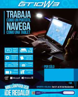 comprar tablet GT10W3