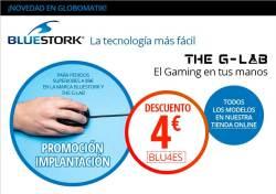 el gaming está en tus manos con bluestork y g-lab
