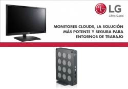 nuevos monitores CLOUDS de LG en MCR