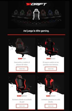 comprar sillon gaming drift en dealermarket