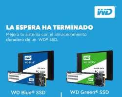 la espera ha terminado con los SSD de WD