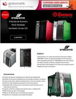 nuevas cajas enermax steelwing