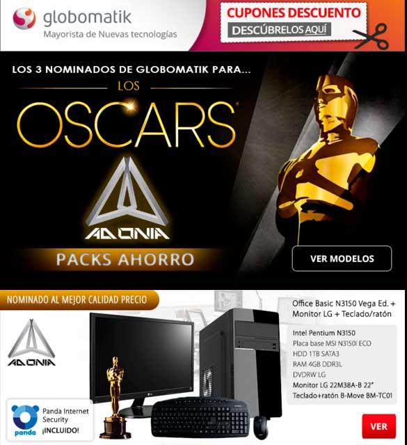 los 3 nominados globomatik para los Oscars Adonia