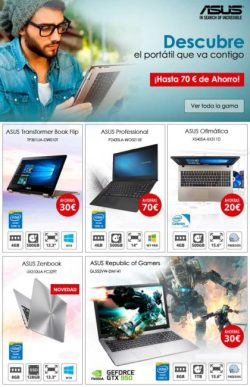 ofertas en portatiles asus