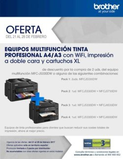 oferta multifuncion brother