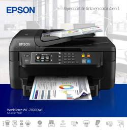 epson workforce inyeccion de tinta en color 4 en 1