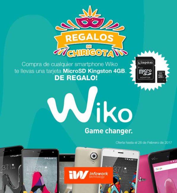 regalos son smartphone wiko