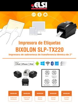 Impresora de etiquetas de sobremesa Bluetooth