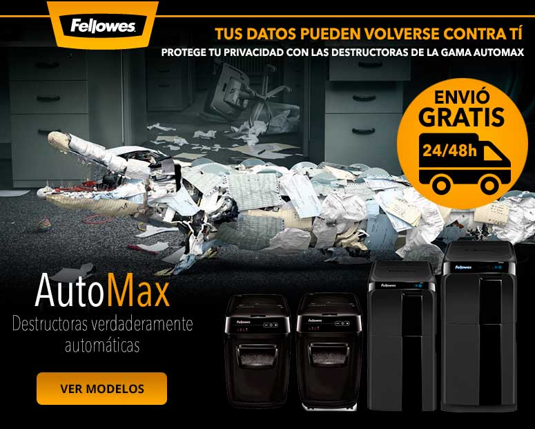 destructora de papel fellowes