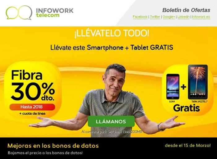 llévate este smartphone + tablet gratis