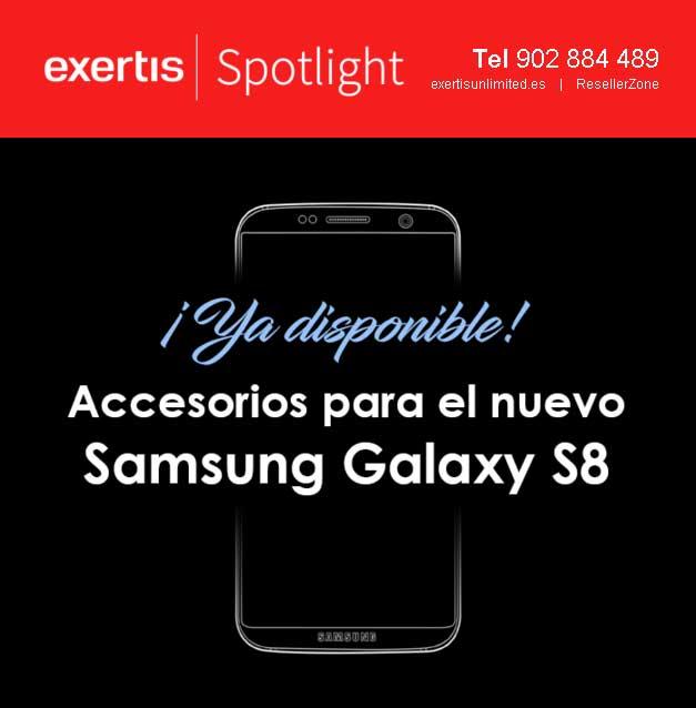 accesorios para galaxy S8