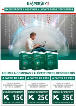 cupon descuento kaspersky