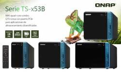 QNAP lanza la serie NAS TS-x53B