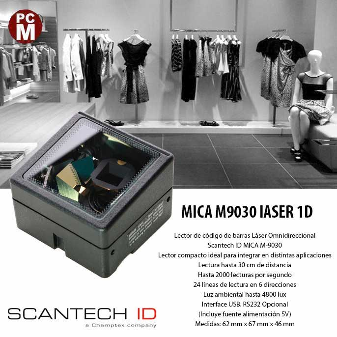 CHAMPTEK SCANTECH ID MICA M9030 LASER 1D
