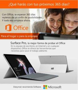 office 365 para el hogar y la oficina