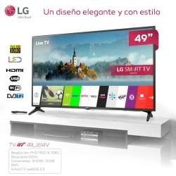"TELEVISION 49"" LG 49LJ614V LED FULLHD SMART TV WEB OS 3.5"