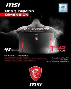 Portatil gaming MSI