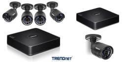 Kit de Vigilancia DRTV CCTV HD de 4 canales TV-DVR104K