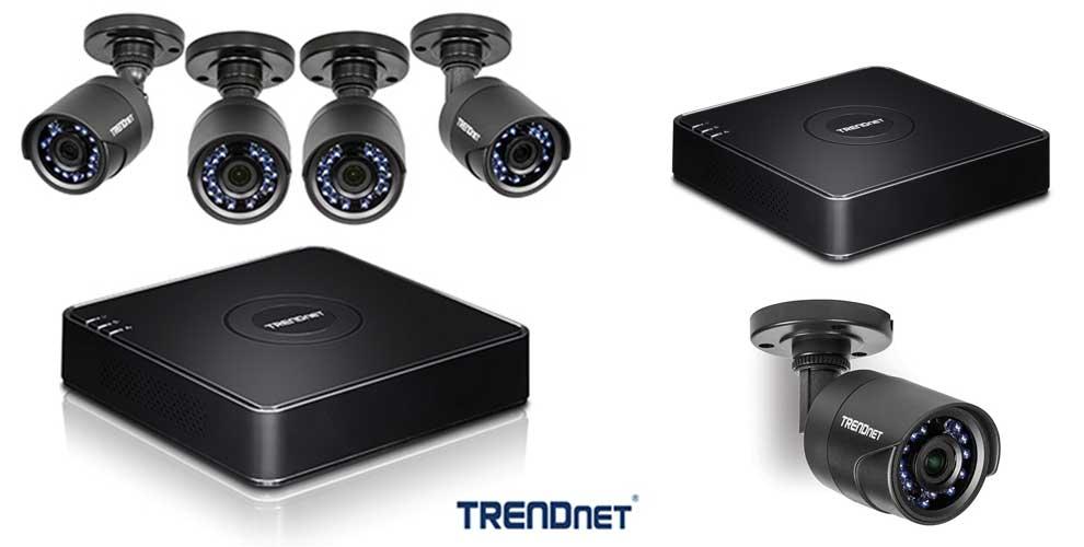 Kit de Vigilancia DRTV CCTV HD de 4 canales TV-DVR104K