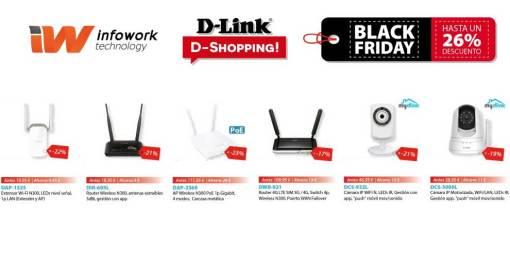 Black Friday D-Link con hasta un 26% de descuento