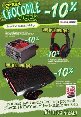 Green Cocodrile Week con Mars Gaming