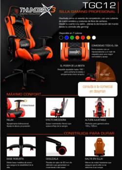 thunderx3 silla gaming profesional