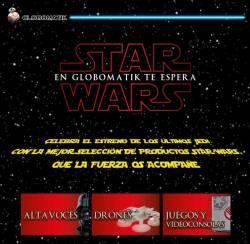 promo star wars en globomatik