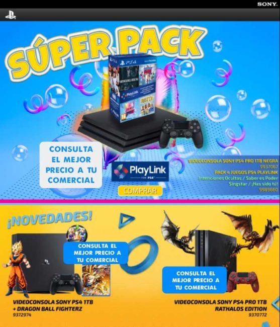 console ps4 precio